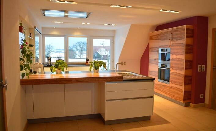 Küche Weiß Hochglanz Welche Arbeitsplatte